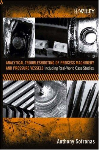 Download Analytical troubleshooting of process machinery and pressure vessels