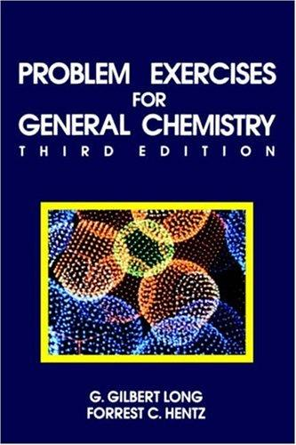 Download Problem exercises for general chemistry