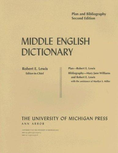 Download Middle English Dictionary
