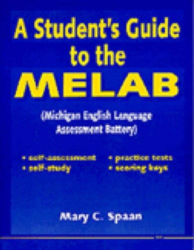 Download A student's guide to the MELAB
