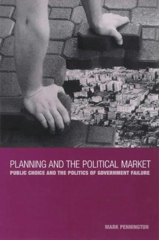 Download Planning and the political market