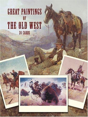 Great Paintings of the Old West: 24 Cards (Dover Postcards), Museum, Rockwell
