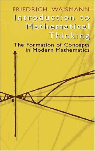Download Introduction to mathematical thinking