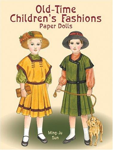 Download Old-Time Children's Fashions Paper Dolls