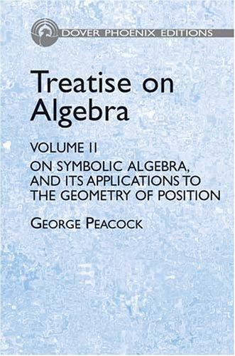 Download Treatise on algebra