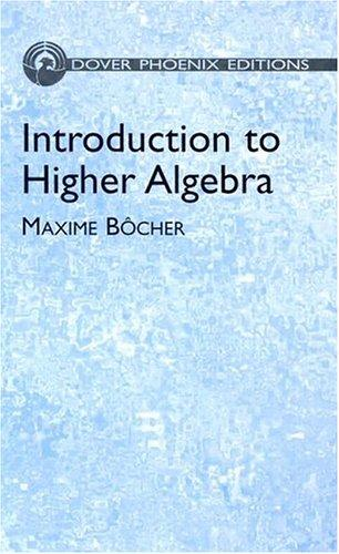 Introduction to higher algebra