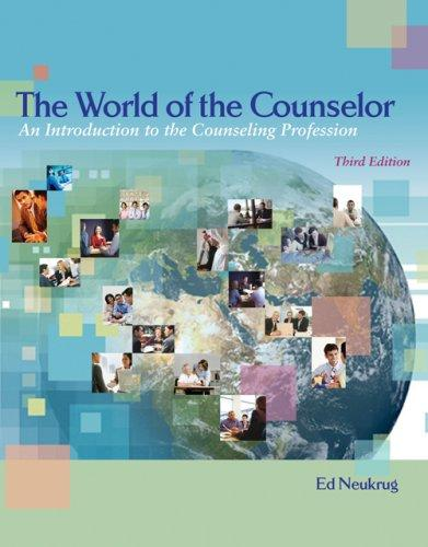 Download The World of the Counselor