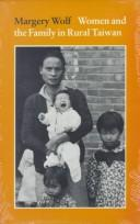 Women and the family in rural Taiwan.