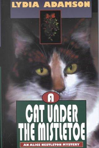 Download A cat under the mistletoe