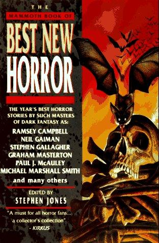Download The Mammoth Book of Best New Horror (Mammoth Book  of Best New Horror)