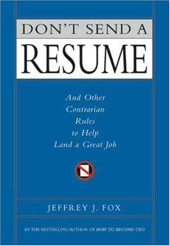 Download Don't Send a Resume