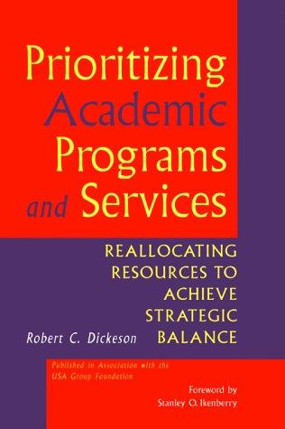 Download Prioritizing academic programs and services
