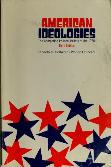 American ideologies by Kenneth M. Dolbeare
