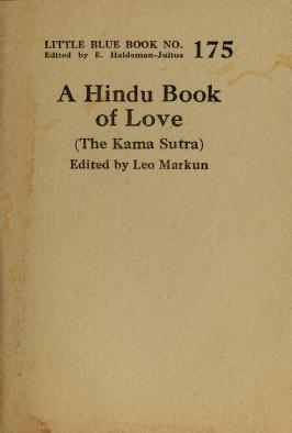 Cover of: A Hindu book of love | Vātsyāyana