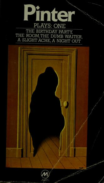 Cover of: Plays, one | Harold Pinter