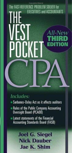 The Vest Pocket CPA