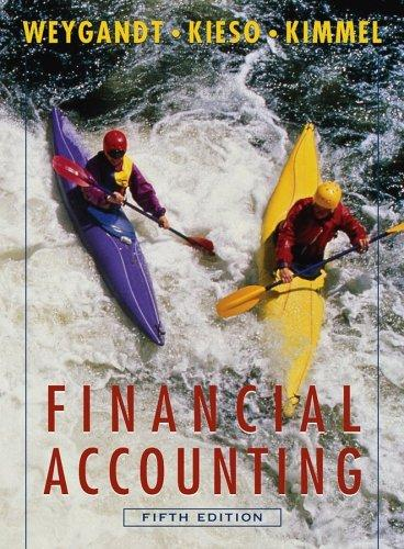 Financial Accounting 5th Edition Annual Report with Wiley Plus Set (Wiley Plus Products) by Jerry J. Weygandt, Donald E. Kieso, Peter S. Kimmel