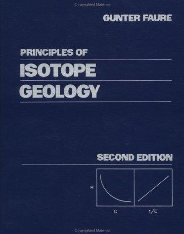 Principles of isotope geology