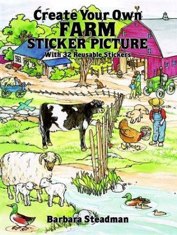 Create Your Own Farm Sticker Picture by Barbara Steadman