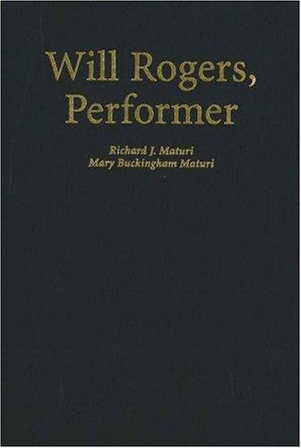Will Rogers, performer