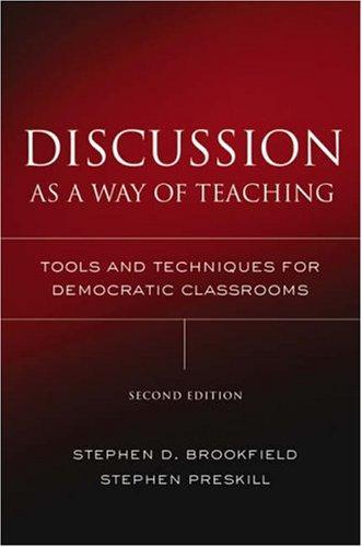 Image 0 of Discussion as a Way of Teaching: Tools and Techniques for Democratic Classrooms